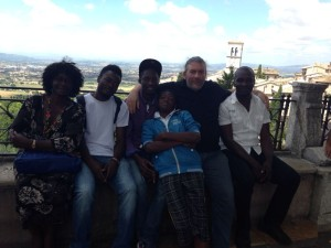 volontari africani